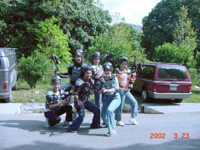 Gotcha Paint Ball En Rio Actopan Chicuasen Veracruz