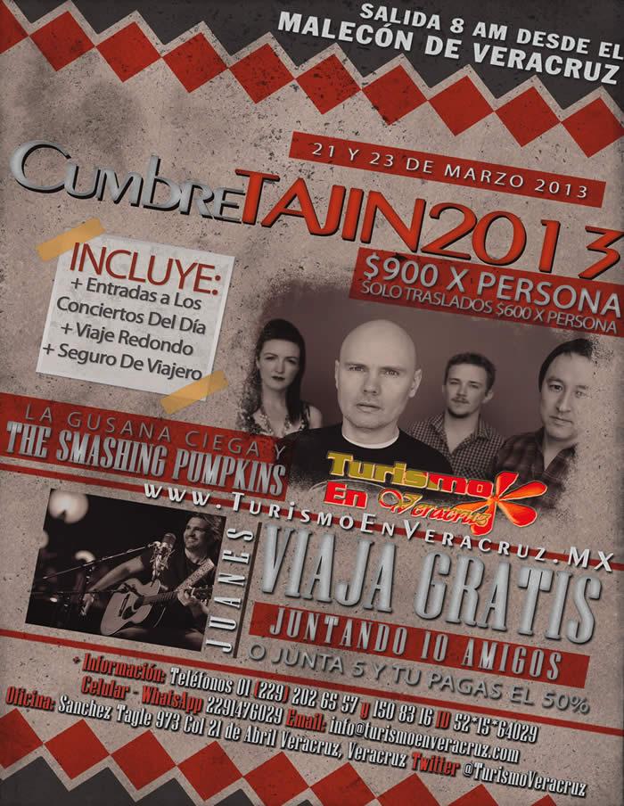 La Cumbre Tajín 2013 Te Espera Este 21 y 23 De Marzo De 2013